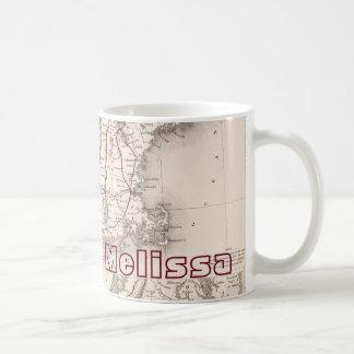 地図: 北東米国 コーヒーマグカップ