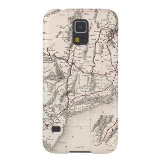 地図: 北東米国 GALAXY S5 ケース
