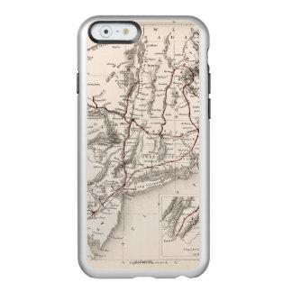 地図: 北東米国 INCIPIO FEATHER SHINE iPhone 6ケース