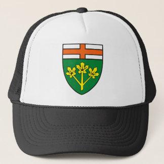 (地域)帽子オンタリオの紋章付き外衣 キャップ