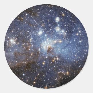 地域NASAを形作るLH 95の星 ラウンドシール