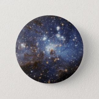地域NASAを形作るLH 95の星 5.7CM 丸型バッジ