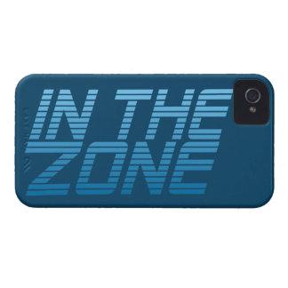 地帯のカスタムなブラックベリーの箱 Case-Mate iPhone 4 ケース