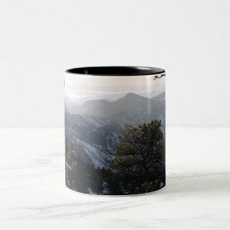 地平線のマグ ツートーンマグカップ