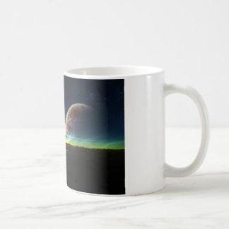 地平線の宇宙 コーヒーマグカップ