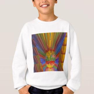 地平線の日没のカラフルな金輝きDIYのギフト スウェットシャツ