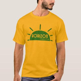 地平線のBloggingソフトウェア Tシャツ