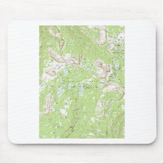 地形図 マウスパッド
