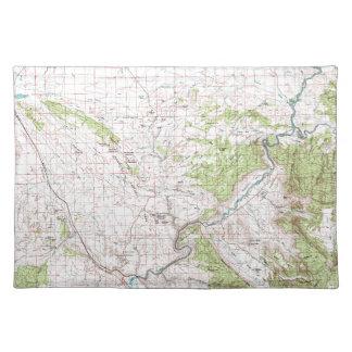 地形図 ランチョンマット