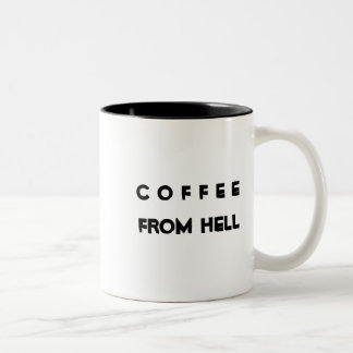 地獄からのコーヒー ツートーンマグカップ