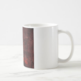 地獄に行きます コーヒーマグカップ