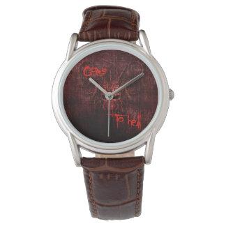地獄に行きます 腕時計
