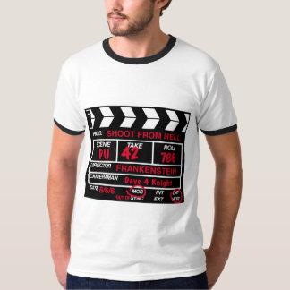 地獄のカメラの石板のTシャツからのシュート Tシャツ