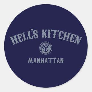 地獄の台所 ラウンドシール