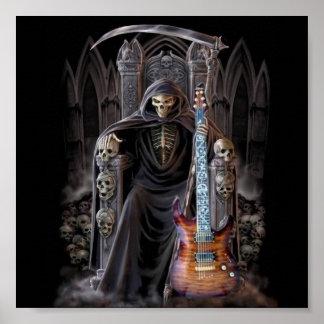 地獄の死神のギター ポスター