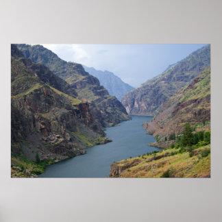 地獄の渓谷P5487のプリント ポスター