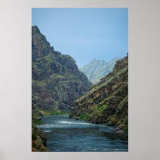地獄の渓谷P5490のプリント ポスター