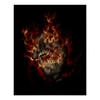 地獄の火16x20ポスター ポスター
