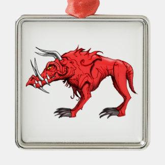 地獄の猟犬 メタルオーナメント