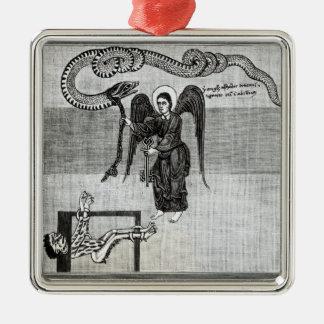 地獄の鍵を握る天使 メタルオーナメント