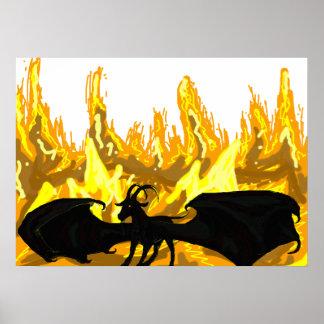 地獄の鬼のヤギ ポスター