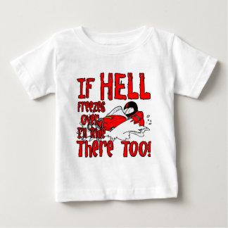 地獄は凍っています ベビーTシャツ