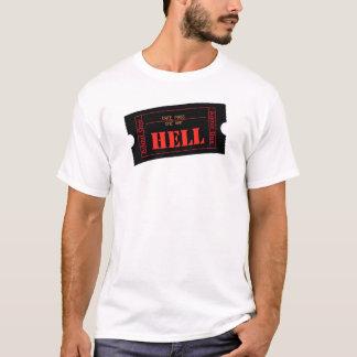地獄への招待券 Tシャツ