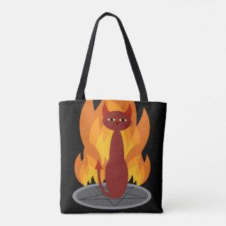 地獄猫 トートバッグ