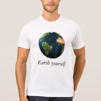 地球あなた自身 Tシャツ