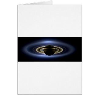 地球および土星 カード