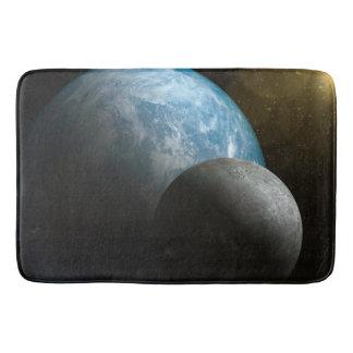 地球および月のバス・マット バスマット