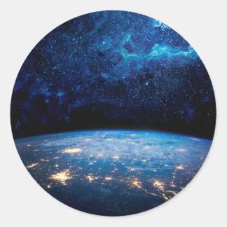 地球および銀河系 ラウンドシール