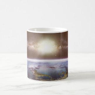 地球およびMilkyway色の変更のマグ モーフィングマグカップ