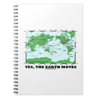 地球が動かすYes (プレート造構論の地震) ノートブック