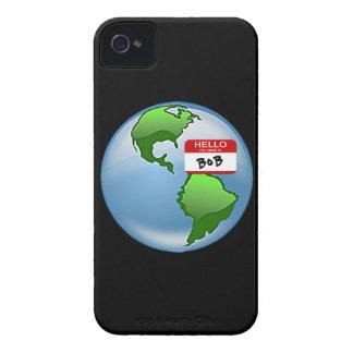地球によって示されるボブ Case-Mate iPhone 4 ケース
