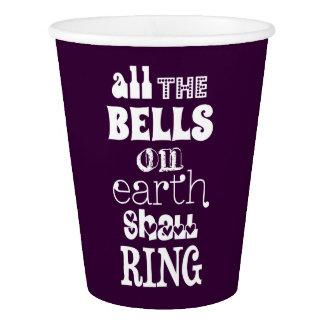 地球のすべての鐘は鳴ります 紙コップ