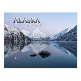 地球のアラスカの平和 ポストカード