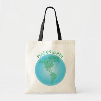 地球のエンドウ豆 トートバッグ