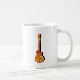 地球のギターの音響器 コーヒーマグカップ