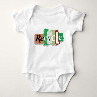 地球のギフトのTシャツのためのリサイクル ベビーボディスーツ