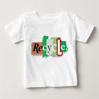 地球のギフトのTシャツのためのリサイクル ベビーTシャツ