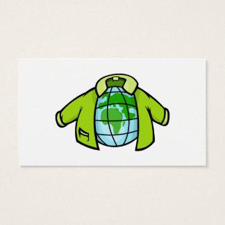 地球のジャケット 名刺