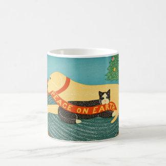 地球のスティーブンHuneckのギャラリーの平和 コーヒーマグカップ
