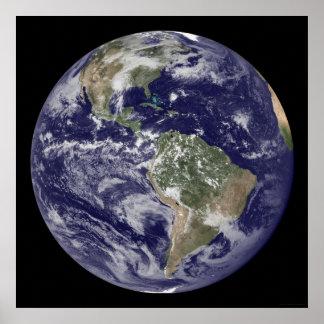 地球のハリケーンIke 52x52 (40x40) ポスター