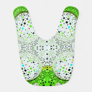 地球のベビー用ビブのLouisa Catharineのデザインを越える生命 ベビービブ