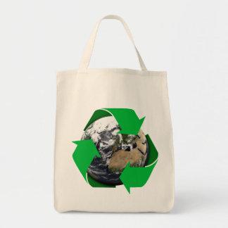 地球のリサイクル トートバッグ