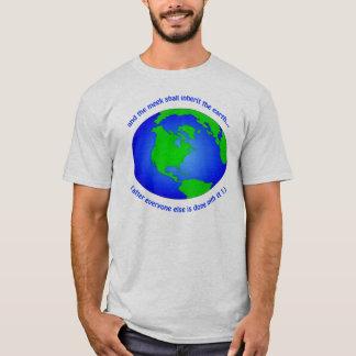 地球のワイシャツ Tシャツ