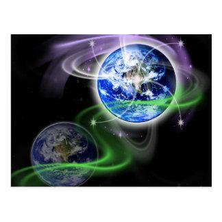 地球の上昇 ポストカード