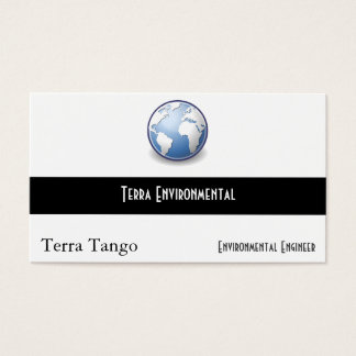 地球の世界の地球のタンゴ 名刺