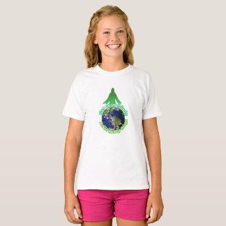 地球の事のあなたの心をない置いて下さい Tシャツ